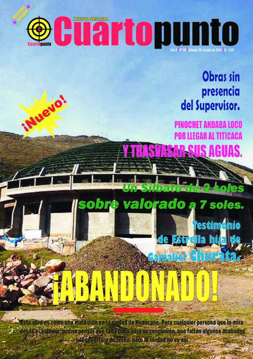 Revista Semanal Cuartopunto julio2016