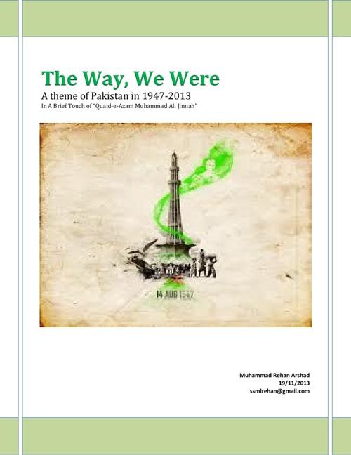 The Way, We Were