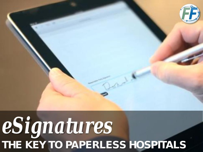 eSignatures: The Key to Going Paperless