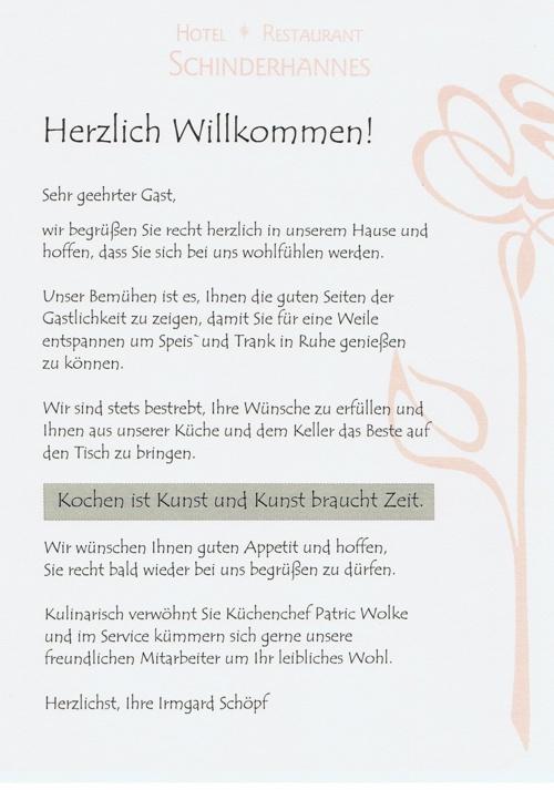 Schinderhannes Menu2