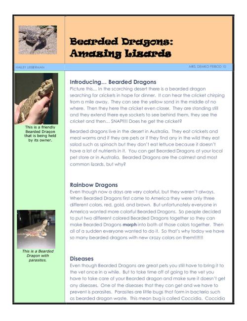 Mrs. Demko's ILA Research Articles 2012