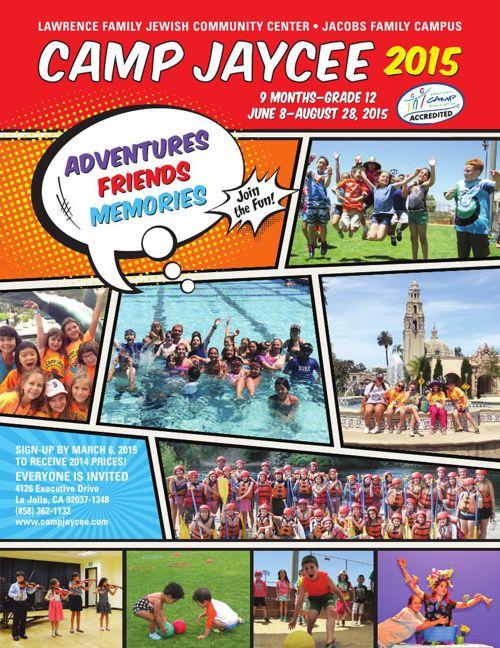 Camp Jaycee 2015 Brochure