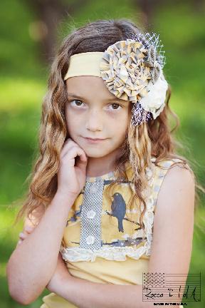 Rocco & LoLA™ | Girl Headband Children Collection