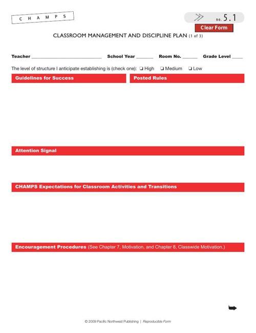 CHAMPS CMP Form
