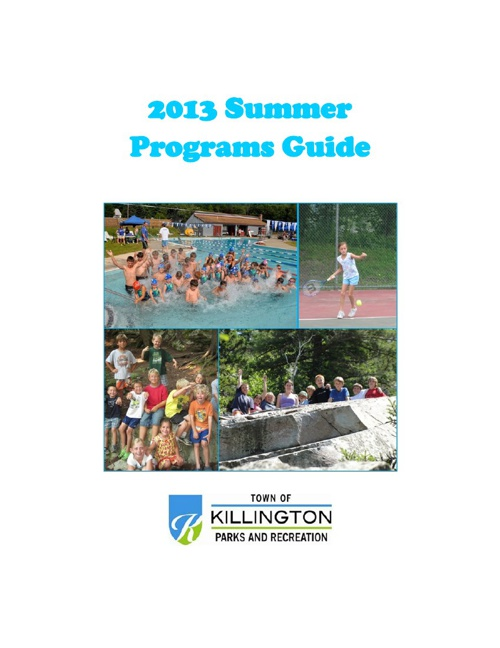 2013 Summer Programs Guide