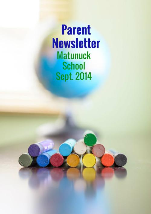 Matunuck Newsletter
