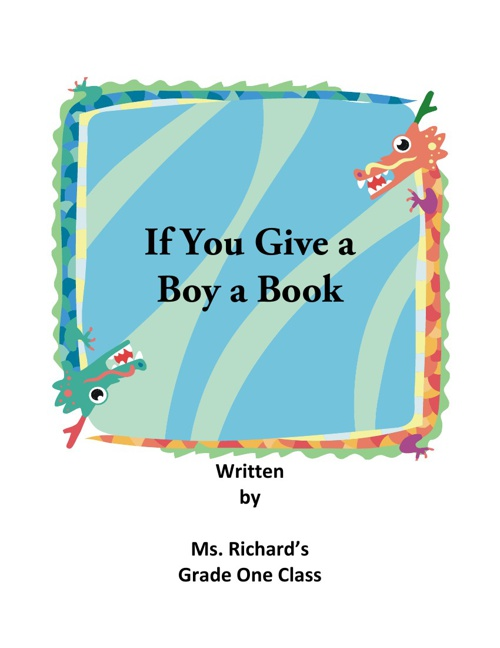 If You Give a Boy a Book!