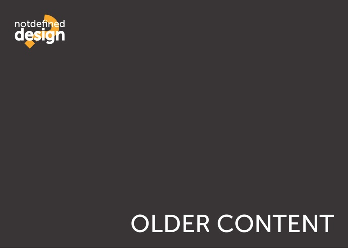 Older Content (2011-2012)