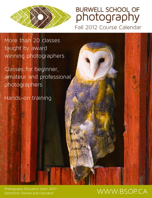 BSOP Fall 2012 Photography Class Calendar