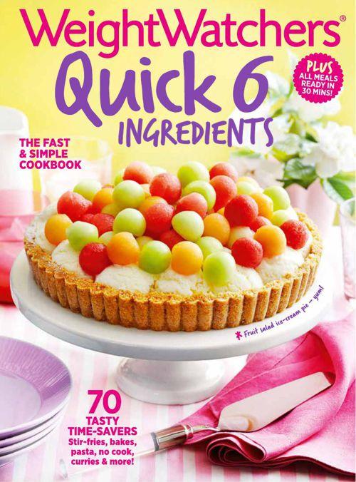 Quick 6 ingredient cookbook