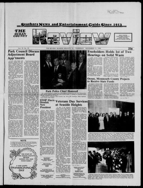 Review November 1984