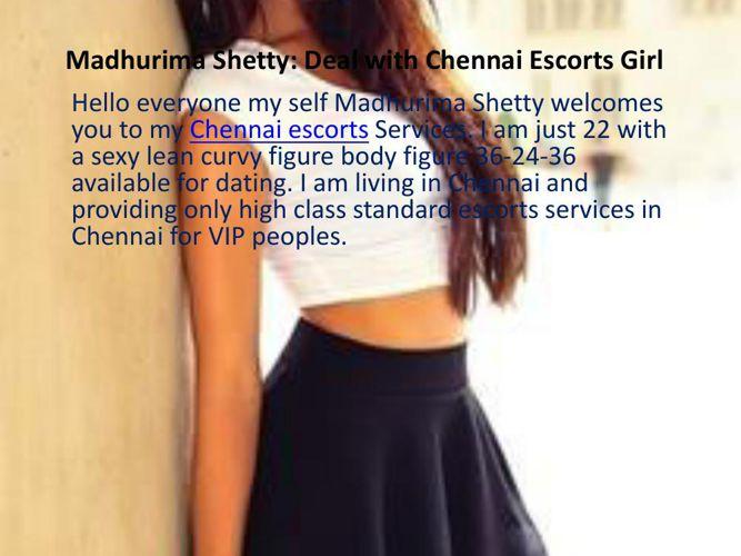 Madhurima Shetty Dating Service in Chennai