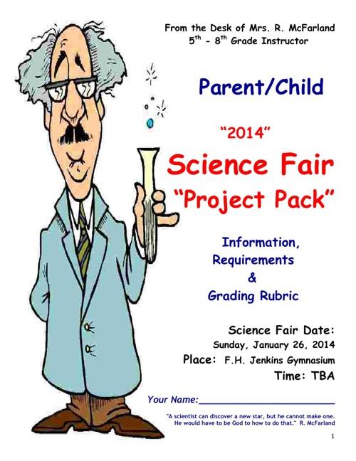 SCIENCE Fair 2014 5-8 X