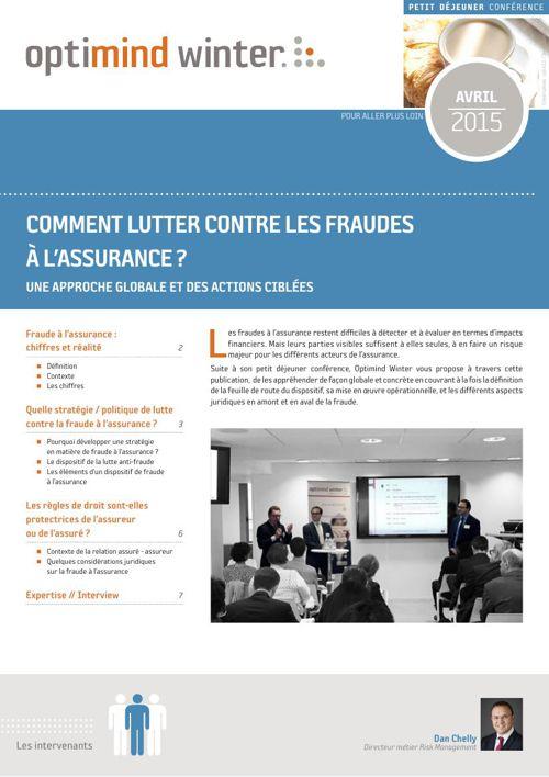 Optimind Winter - Lutte contre les fraudes à l'assurance