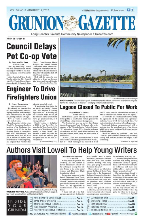 Grunion Gazette | January 19, 2012