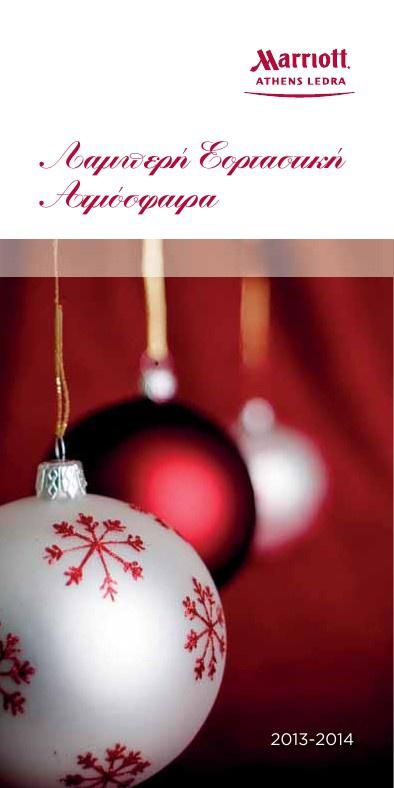 CHRISTMAS BROCHURE 2013-14