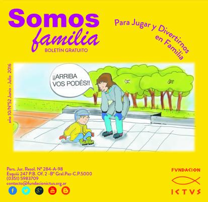 """Boletín """"Somos familia"""" N°52 Junio - Julio"""
