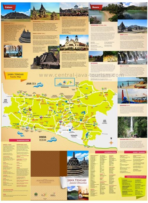Jawa Tengah Tourist Attraction
