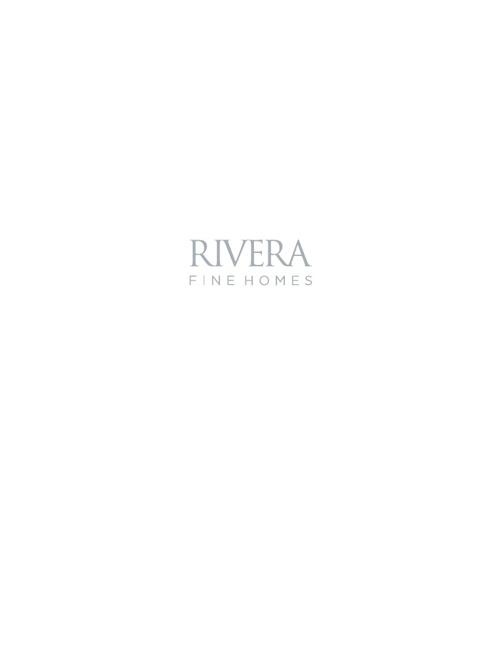 Rivera - Fine Homes