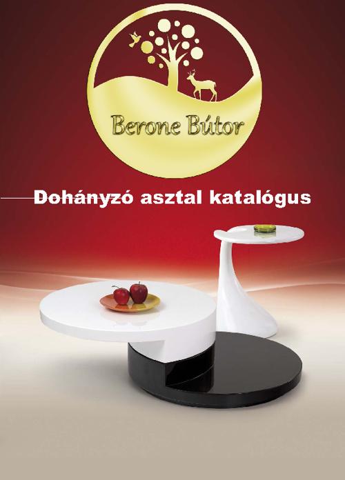 Berone bútor - dohányzóasztal - egyéb dizájn asztal katalógus