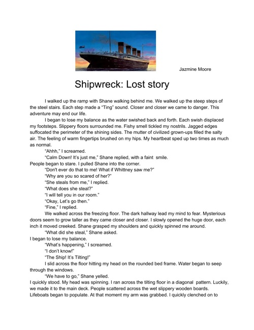 Shipwreck: Lost Story