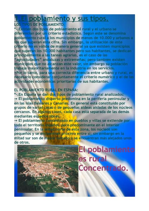 TEMA 4: LAS CIUDADES DE ESPAÑA Y ANDALUCÍA