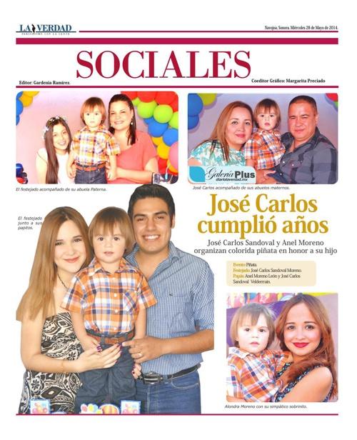 SOCIALES 28 MAYO 2014