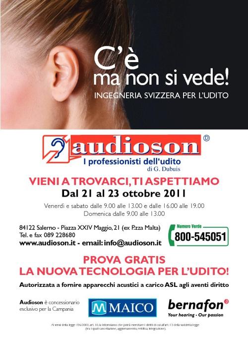 Audioson Offerta del Mese