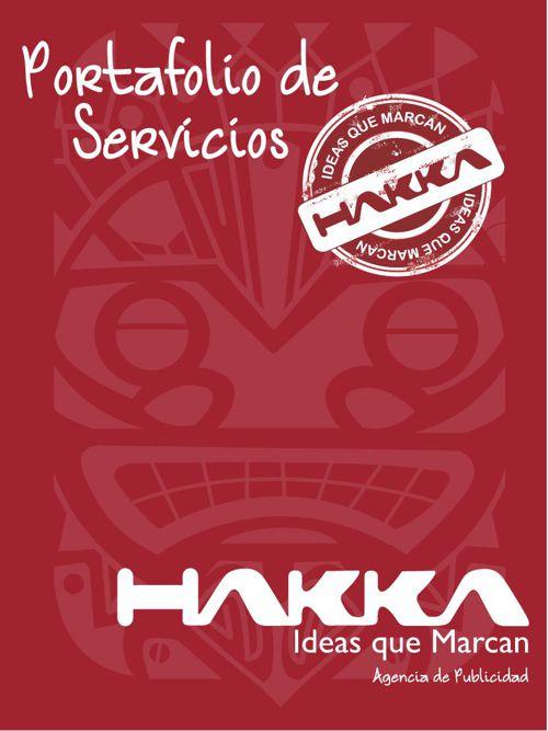 Catalogo Digital Agencia de Publicidad Hakka
