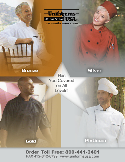 Uniforms USA Chef Book