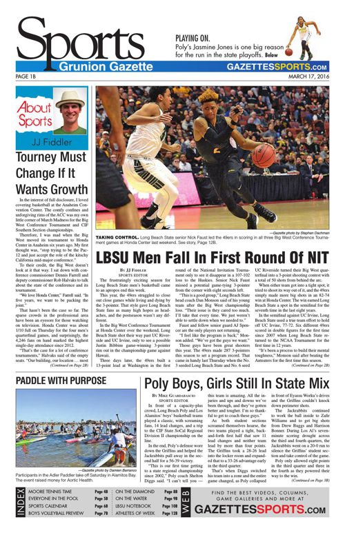 Gazette Sports | March 17, 2016