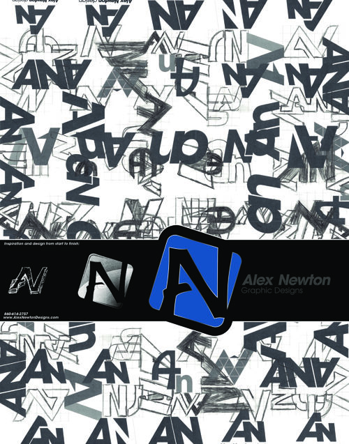 Alex Newton Design Portfolio Book