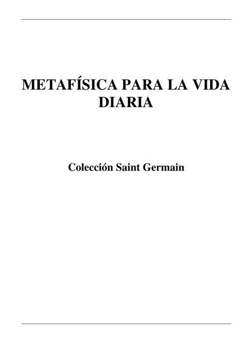 Book Metafisica