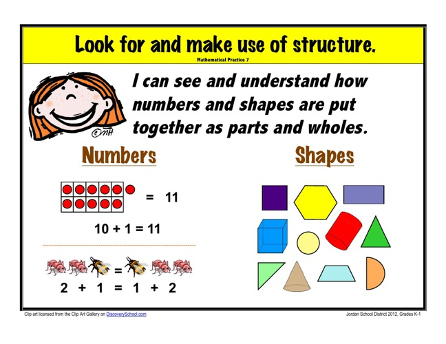 Standards for Mathematical Practice: 7, 8, Spanish