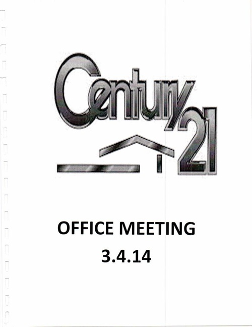 March 3.4.14 Meeting Document