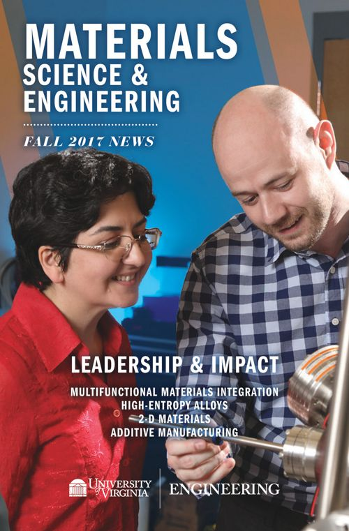 UVA Materials Science & Engineering 2017-18 Newsletter