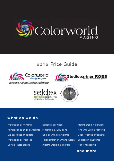 Colorworld Imaging Brochure 2012