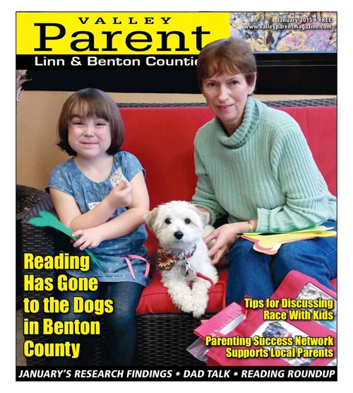 Valley Parent Magazine --- January, 2015