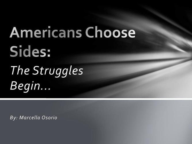 Americans Choose Sides final