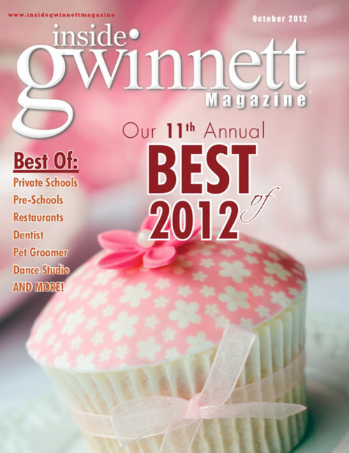 2012 Best of Gwinnett Award for Best Private Middle School