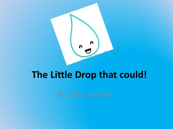 The Litttle Raindrip that Could