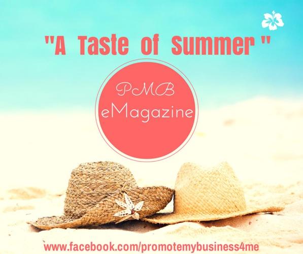 """Summer eMag """"A Taste of Summer"""""""
