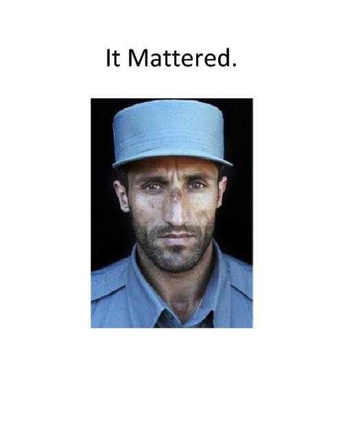 It Mattered