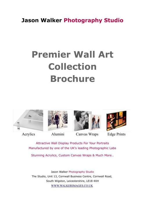 Premier Wall Display Brochure 2013