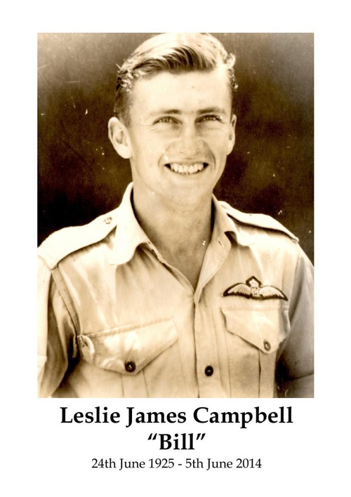 4 Order of Service for Leslie Campbell