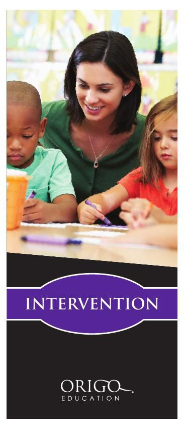 ORIGO Education Intervention Brochure