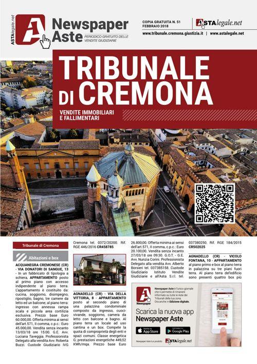 Cremona febbraio 2018
