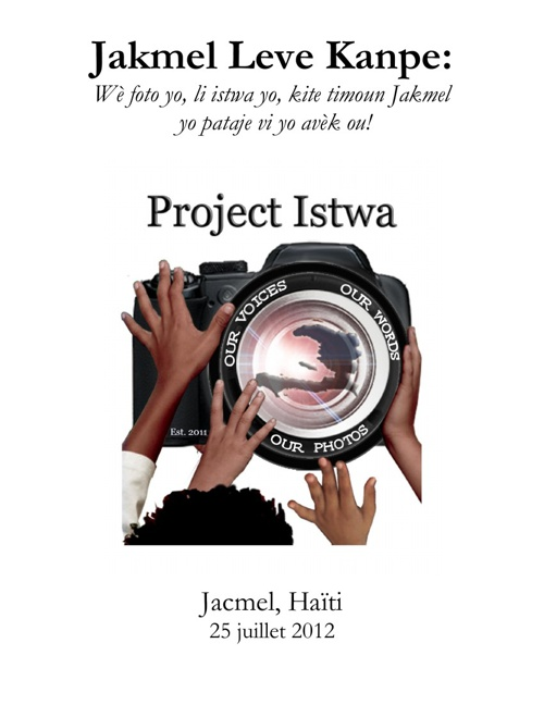 Project Istwa Jacmel - July 2012