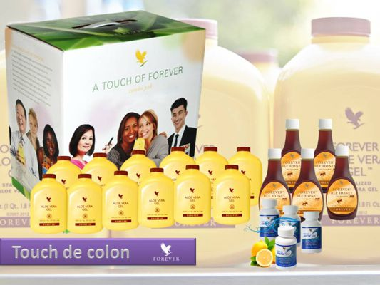 PAQUETES, TOUCH Y MINITOUCH DE FOREVER LIVING