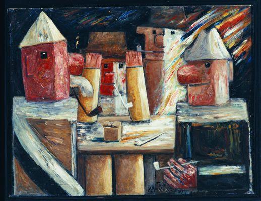 Sztuka nowoczesna - Artyści poza kierunkami część 5